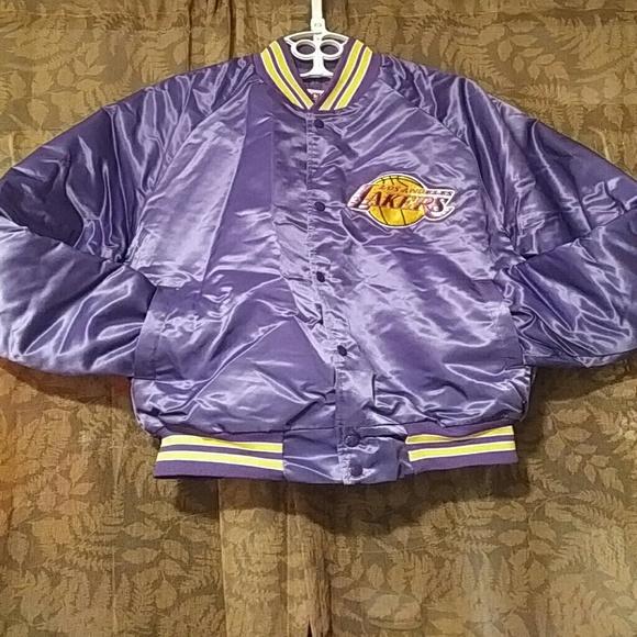Locker Line Jackets Amp Coats Vintage La Lakers Bomber